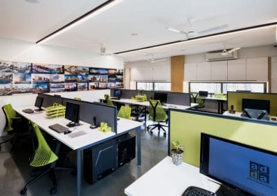 Office Interior Design (Cisco Engineering)