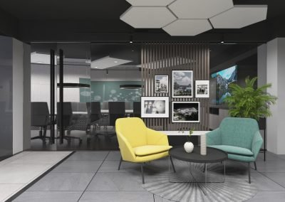 Office Interior Design (Aziz Group)
