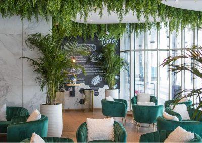 Restaurant Interior Design (The Ground of Dhaka – Food Hall)