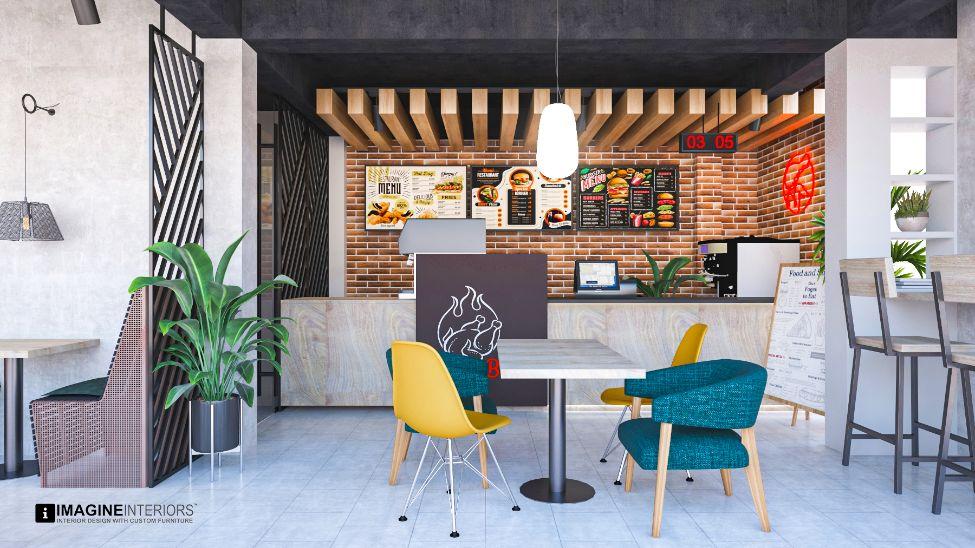 Restaurant Interior Design (Golden Food Court)